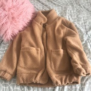 Zaful Teddy Coat
